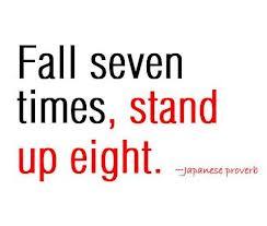 I fall down.  I get up again. (2/2)