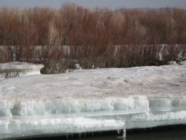 springtime thaw