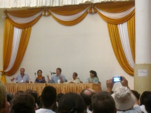 William Dalrymple, Daw Aung San Suu Kyi, Fergal Keane, Vikram Seth and Jung Chang