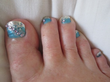 Life is too short not to have funky toenails!