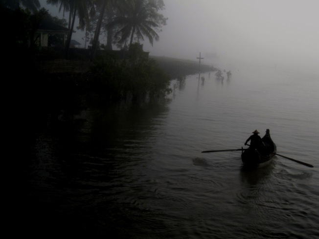 Misty Rakhine morning