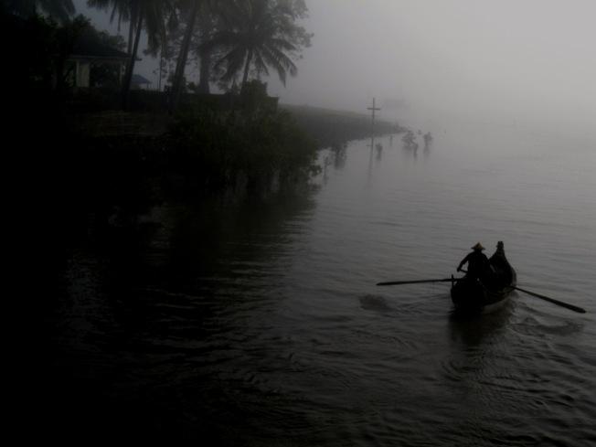 Misty Rakhine morning