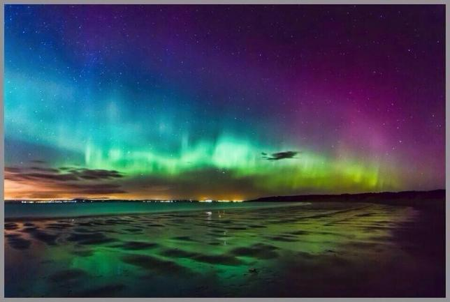 Northern Lights - one of many images on Twitter