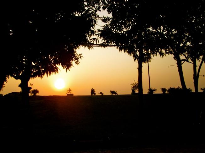 Pre-Thingyan Sunset