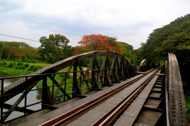 On the Bridge over the River Kwai