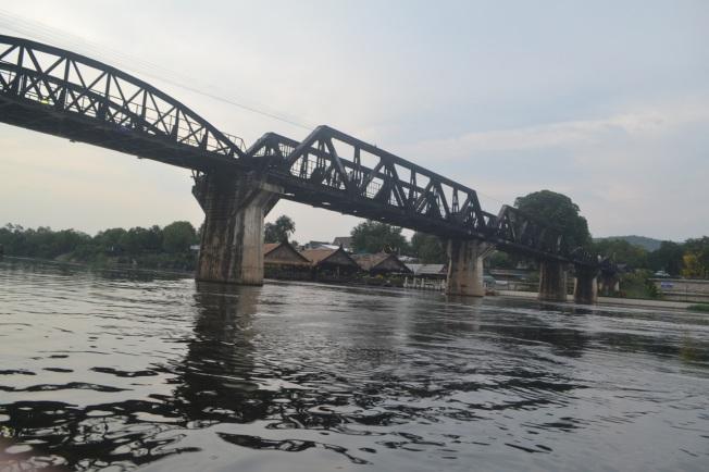 Kanchanaburi River Kwai bridge