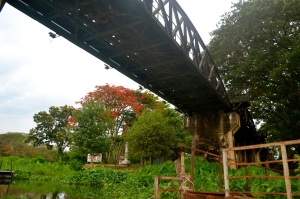 Under the Bridge over the River Kwai