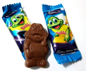 Chocolate frogs!