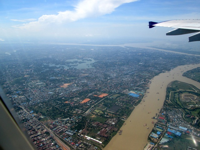 Leaving Yangon