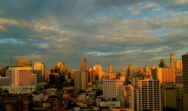 bangkok sunrise