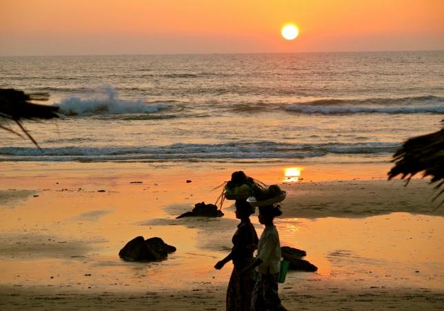 Ngapali sunset