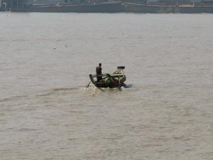Regular river traffic